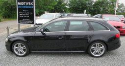 Audi A4 2013 2.0 TDi Avant erhvervsleasing