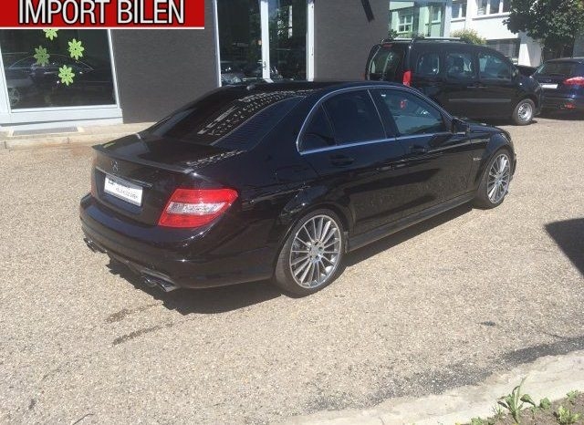 Mercedes Benz – C 63 AMG 2010 6.2 flexleasing full