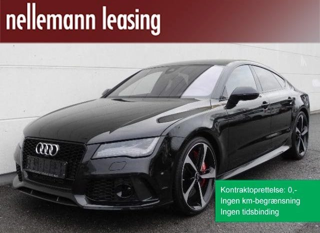 Audi RS7 2014 4.0 TFSi SB Quattro Tiptr erhvervsleasing