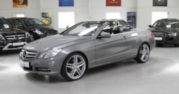 MERCEDES-BENZ E350 CGI CABRIOLET – Flexleasing