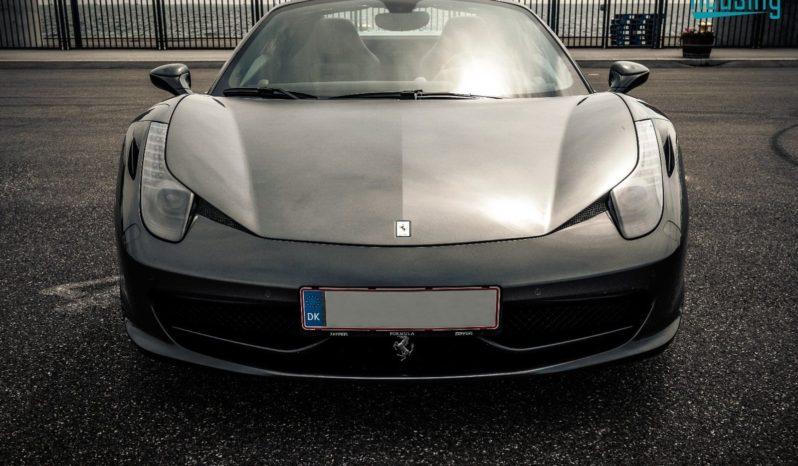 Ferrari 458 Spider DCT full